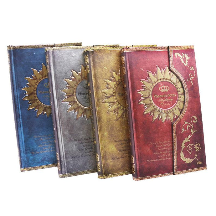 Mysterious Magnet Buckle Magic Notebook Diary - Go Steampunk