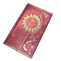 Mysterious Magnet Buckle Magic Notebook Diary Red / A5 - Go Steampunk