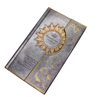 Mysterious Magnet Buckle Magic Notebook Diary Silvery / A5 - Go Steampunk