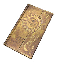 Mysterious Magnet Buckle Magic Notebook Diary Golden Yellow / A5 - Go Steampunk