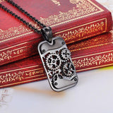 Steampunk Mechanical Gear Dog Tag - Go Steampunk