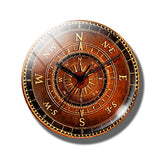 Steampunk Compass Fridge Magnet J - Go Steampunk