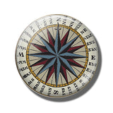 Steampunk Compass Fridge Magnet H - Go Steampunk
