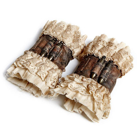 Steampunk Vintage Short Wrist Gloves