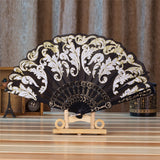 Spanish Style Silk Fan - Go Steampunk