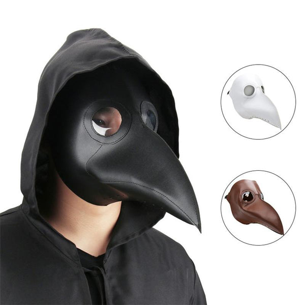 Dr. Beulenpest Faux Leather Steampunk Plague Doctor Mask