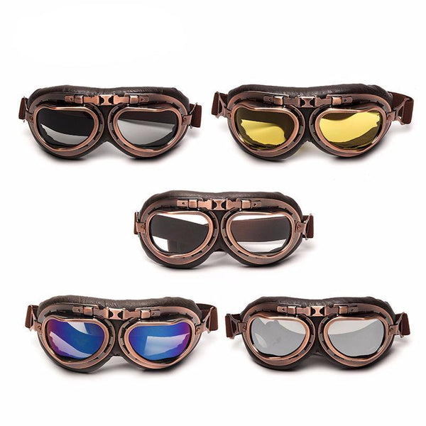 Copper Pilot Goggles