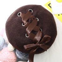 Corset Beret coffee - Go Steampunk