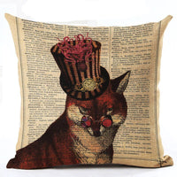 Variety Vintage Cushion Covers 43x43 cm / 19 - Go Steampunk