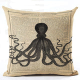 Variety Vintage Cushion Covers 43x43 cm / 8 - Go Steampunk