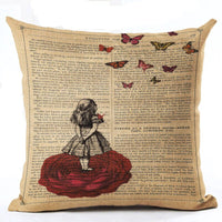 Variety Vintage Cushion Covers 43x43 cm / 21 - Go Steampunk