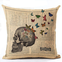 Variety Vintage Cushion Covers 43x43 cm / 15 - Go Steampunk