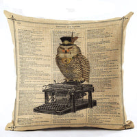 Variety Vintage Cushion Covers 43x43 cm / 3 - Go Steampunk