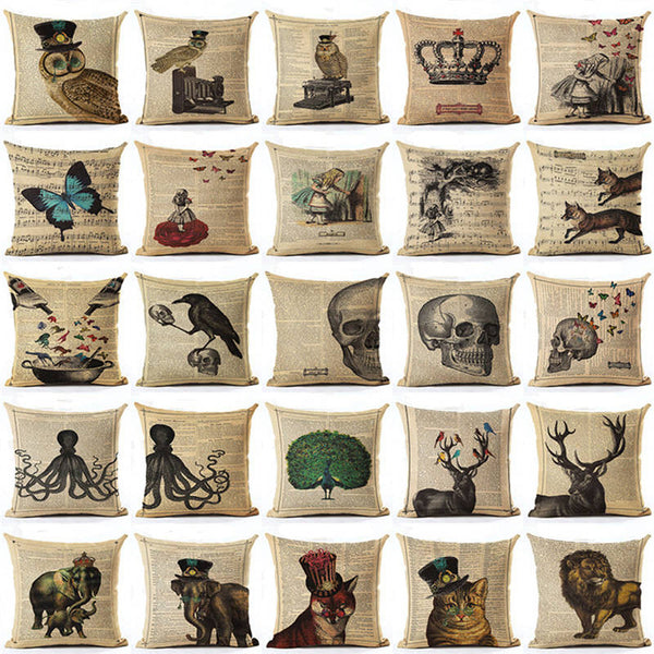 Variety Vintage Cushion Covers