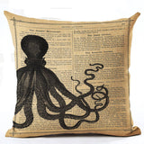 Variety Vintage Cushion Covers 43x43 cm / 7 - Go Steampunk
