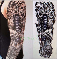 Full Arm Waterproof Temporary Tattoo