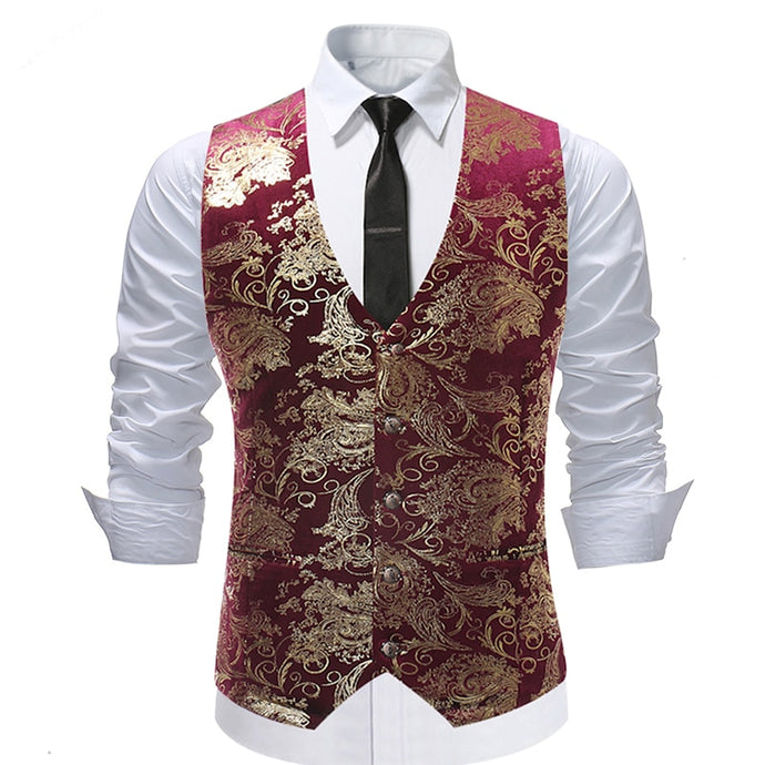 High Tea Luxury Waistcoat - Go Steampunk