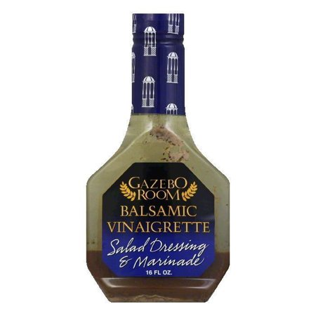 GAZEBO ROOM: Balsamic Vinaigrette Salad Dressing and Marinade, 16 fl oz - Go Steampunk
