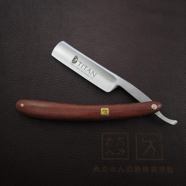 Hand made Mahogony Handled Straight Edge Razor