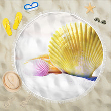 Load image into Gallery viewer, Beach Blanket Shells Print - Go Steampunk