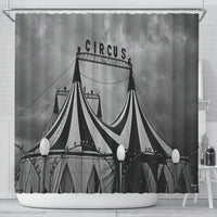 At The Circus Shower Curtain - Go Steampunk