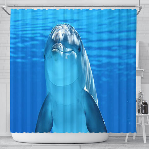 Shower Curtain ~ Dolphin - Go Steampunk