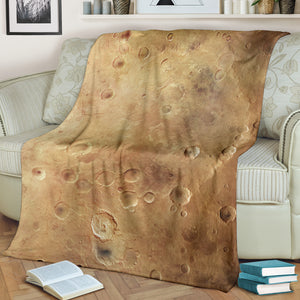Martian Surface Space Blanket - Go Steampunk