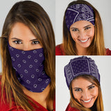 Royal Purple Bandana Headbands 3 Pack - Go Steampunk