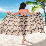 Autumn Fall Large Bloom - Sarong Wrap - Go Steampunk