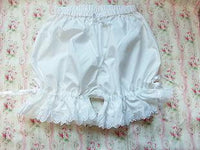 Cotton and Lace Bloomers - Go Steampunk