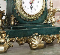 Vintage European style table clock - Go Steampunk