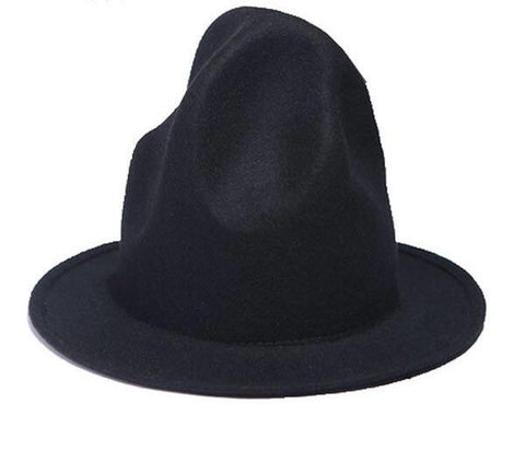 Unique felt hat