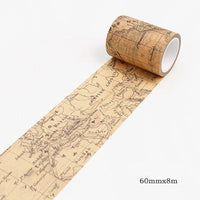 8m Length Vintage World Adhesive Tape 6 - Go Steampunk