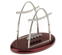Arched Type Newton Cradle Physics Pendulum - Go Steampunk