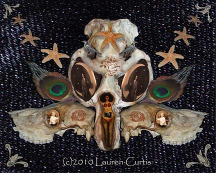 Skull of Wonders Fine Art Print - Go Steampunk