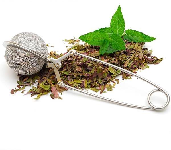 Stainless Steel Mesh Ball Tea Strainer