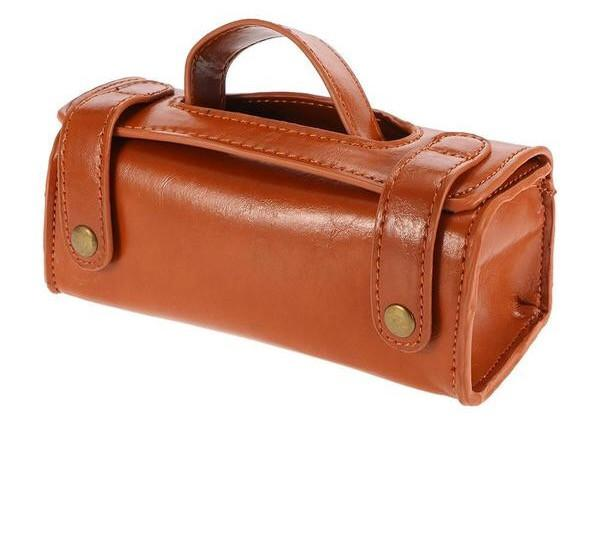 Vegan Leather Travel Toiletry Bag - Go Steampunk