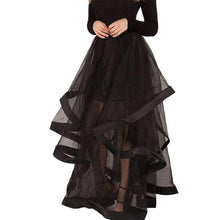 Load image into Gallery viewer, Floor Length Organza Skirt - Go Steampunk