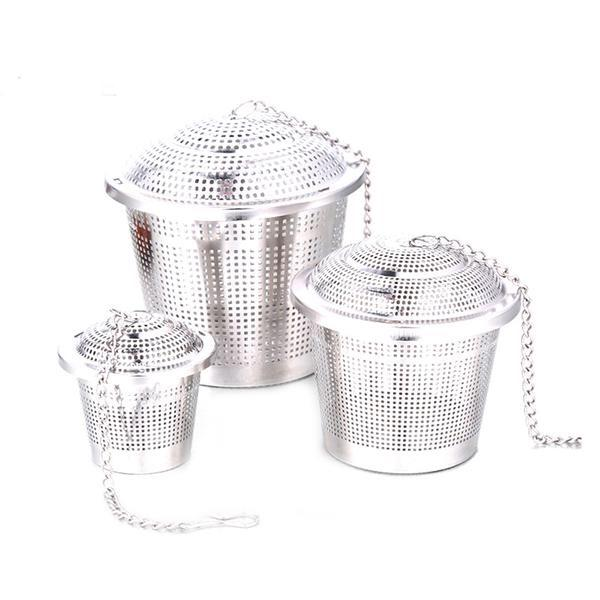 Stainless Steel Mesh Tea Strainer - Go Steampunk