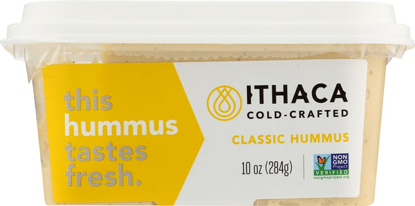 ITHACA COLD CRAFTED: Classic Hummus, 10 oz