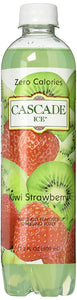 CASCADE ICE: Zero Calories Sparkling Water Kiwi Strawberry, 17.2 fl oz