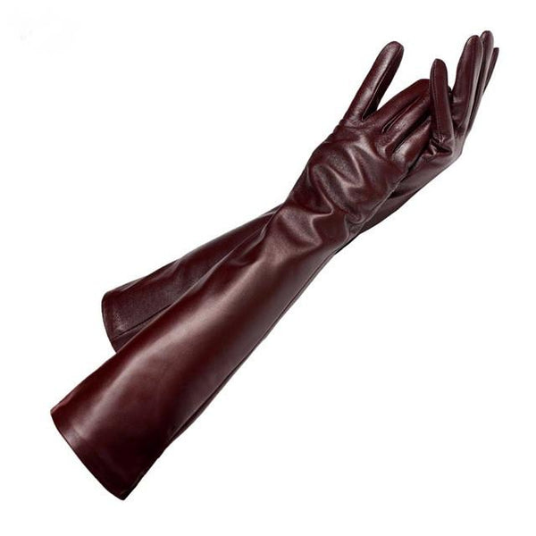 Fashion Sheepskin Leather Gloves
