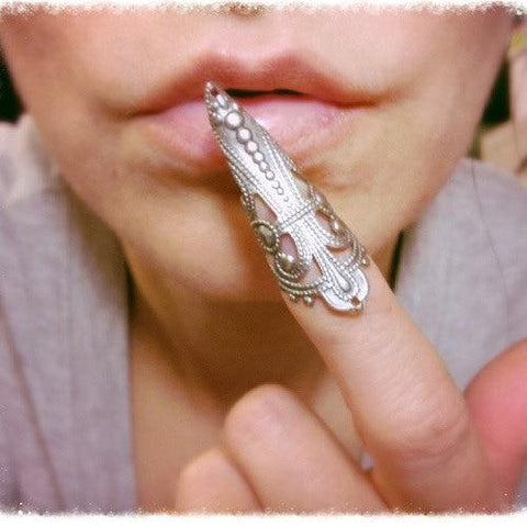 Masquerade Talon False Claw  Nail Ring