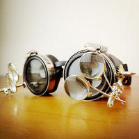 Steam Punk Goggles double - Go Steampunk