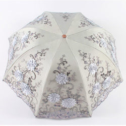 Elegant Embroidered Lace Umbrella - Go Steampunk