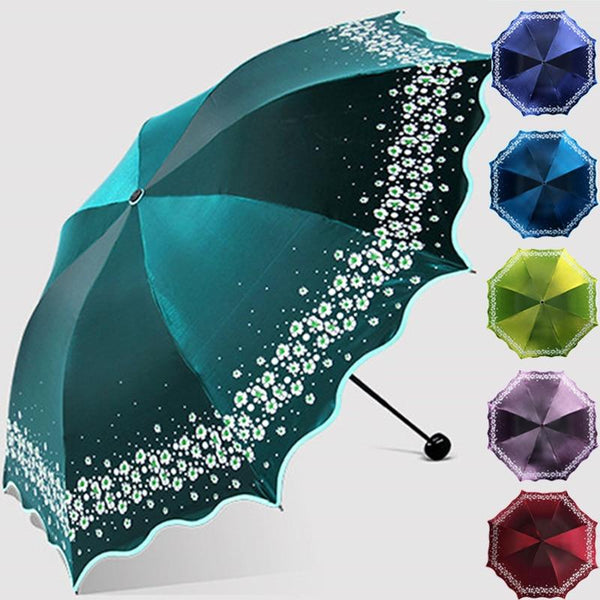 Paradise Full Color Umbrella - Go Steampunk