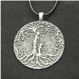 Mother & Child Tree of Life Pendant Necklace - Go Steampunk