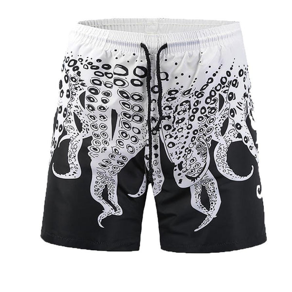 Octopus Tentacle Steampunk Swim Trunks