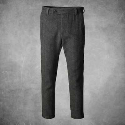Wool slim fit trousers Brown / S - Go Steampunk