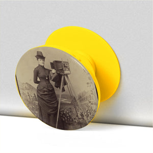 Victorian Lady Photographer Phone Stand - Go Steampunk